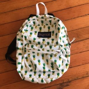 Pineapple Jansport Backpack